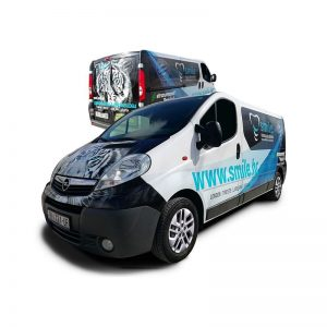 Smile Policlinico Dentale | Trasnport Van Wrap | Moon Safari